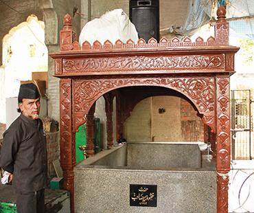 Mazar of Hazrat Abu Nathu Wazir Saheb