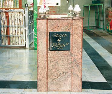 Mazar of Hazrat Saiyed Bhura Miya (Bhatije)